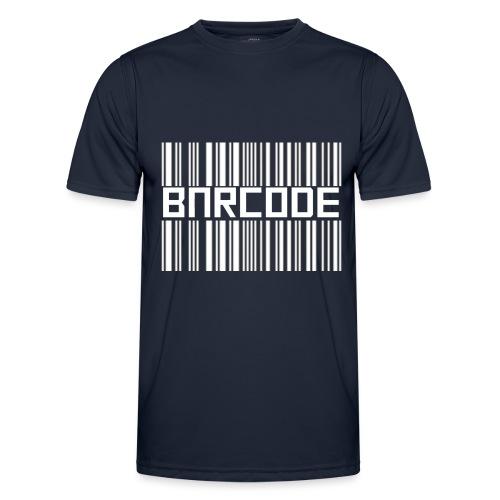 BARCODE BLACK - Men's Functional T-Shirt