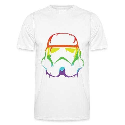 Pride Trooper - simple - Miesten tekninen t-paita