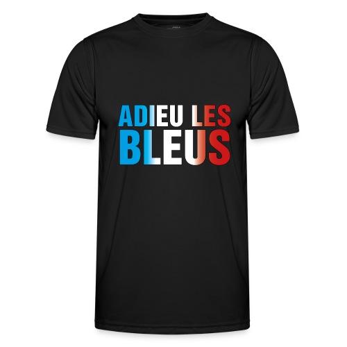 Adieu les bleus - Männer Funktions-T-Shirt