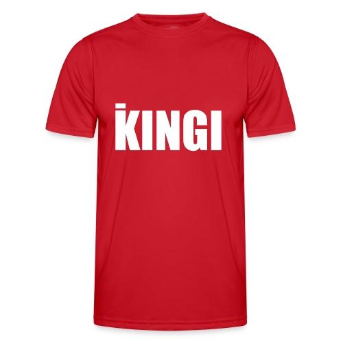 iKINGI - Miesten tekninen t-paita