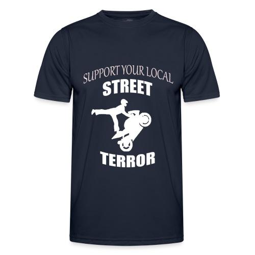 Streetterror Support - Miesten tekninen t-paita