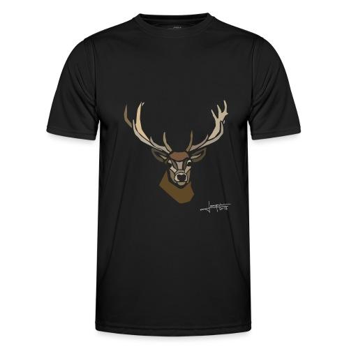 cerf-spread - T-shirt sport Homme