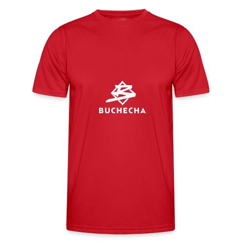 Logo White Basic - Camiseta funcional para hombres