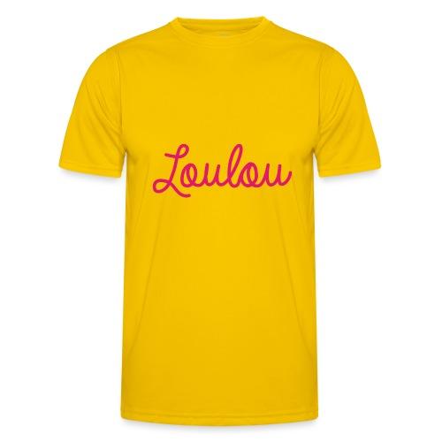 Logo-Roze - Functioneel T-shirt voor mannen