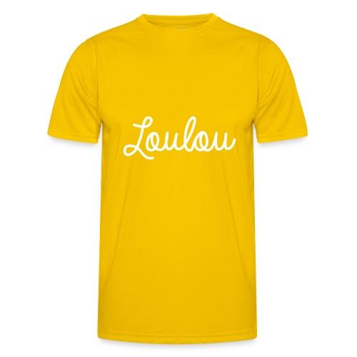 Logo-Wit - Functioneel T-shirt voor mannen