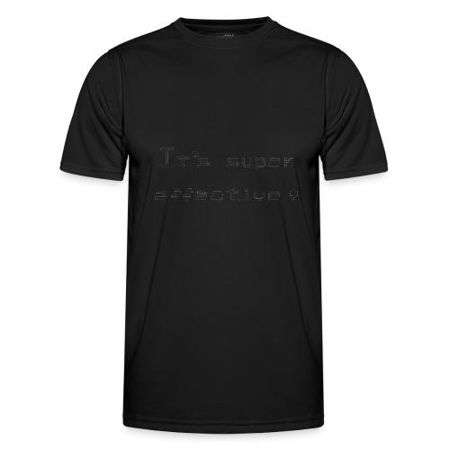 Its super effective transparrent - Funktionsshirt til herrer