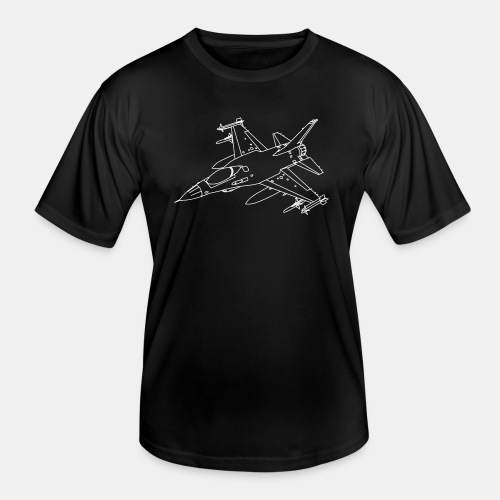F-16 Viper / Fighting Falcon jet fighter / F16 - Men's Functional T-Shirt