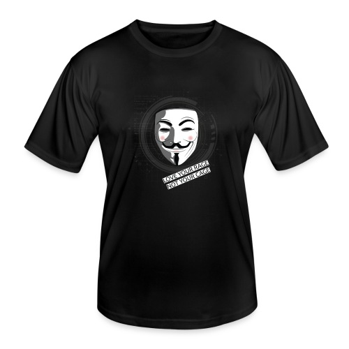 Anonymous Love Your Rage - Men's Functional T-Shirt