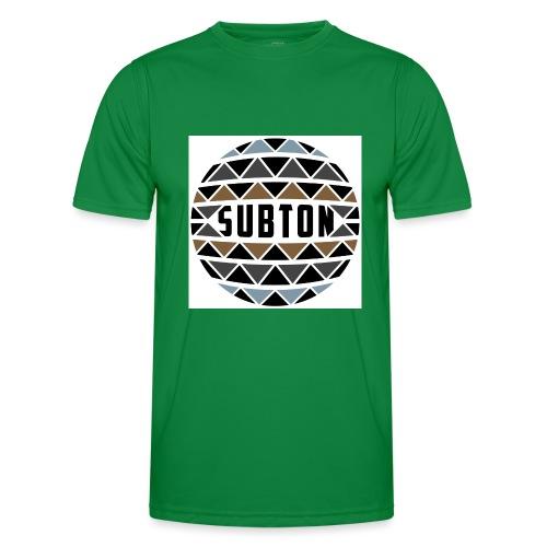 wereldbol_subton2-jpg - Men's Functional T-Shirt