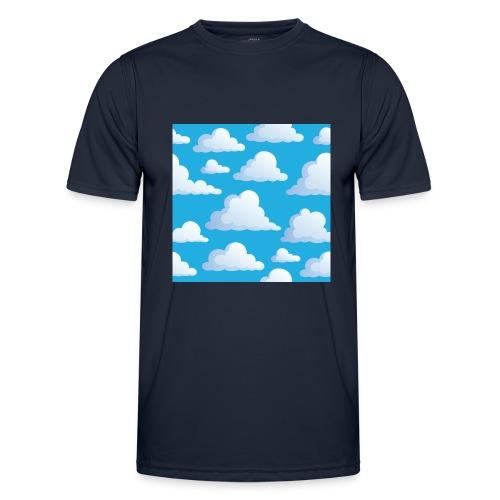 Cartoon_Clouds - Men's Functional T-Shirt