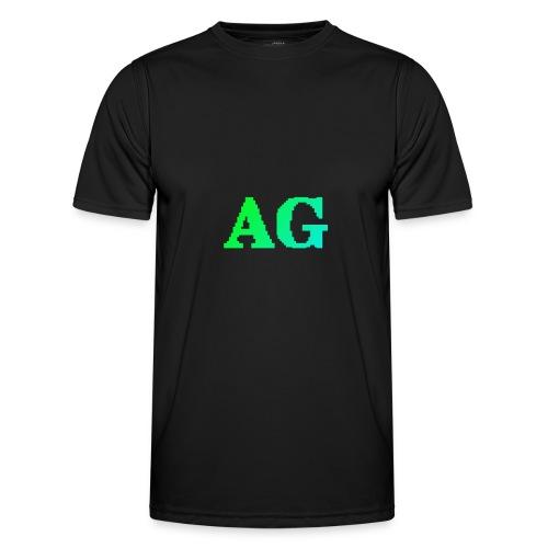 ATG Games logo - Miesten tekninen t-paita