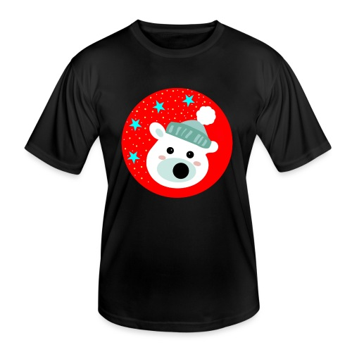 Winter bear - Men's Functional T-Shirt