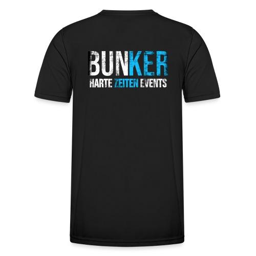 Bunker & Harte Zeiten Supporter - Männer Funktions-T-Shirt
