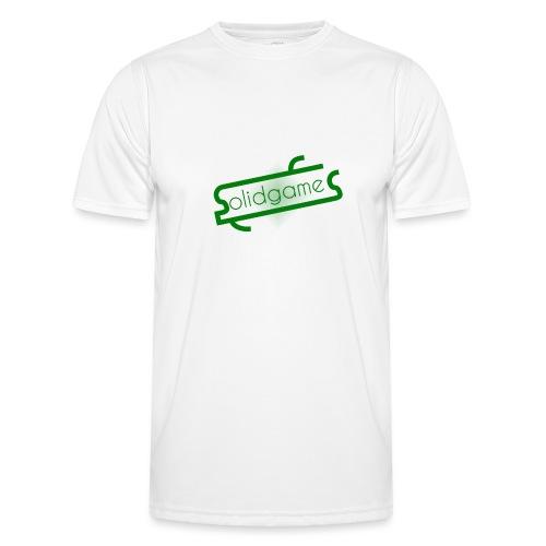 Solidgames Crewneck Grey - Men's Functional T-Shirt
