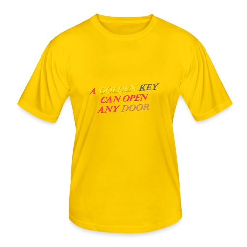 Say in English with 3D effect - Men's Functional T-Shirt