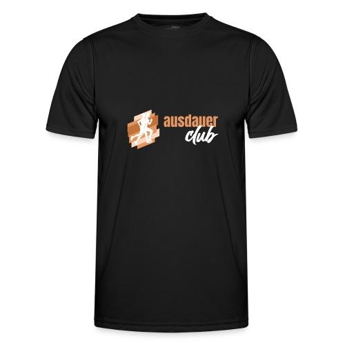 ausdauerclub weiss - Männer Funktions-T-Shirt