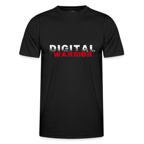 DIGITAl WARRIOR II - Funkcjonalna koszulka męska