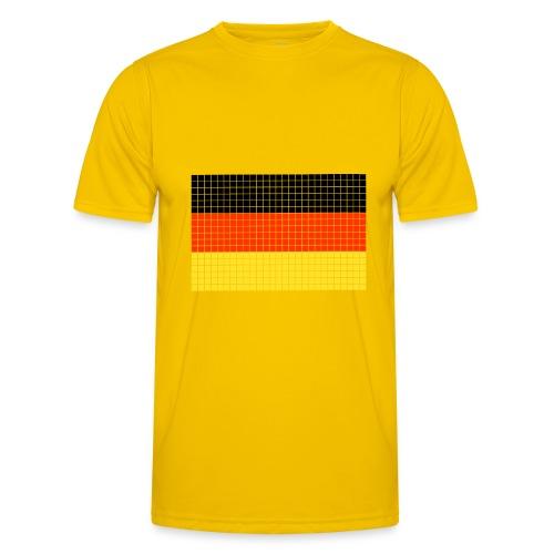 german flag.png - Maglietta sportiva per uomo