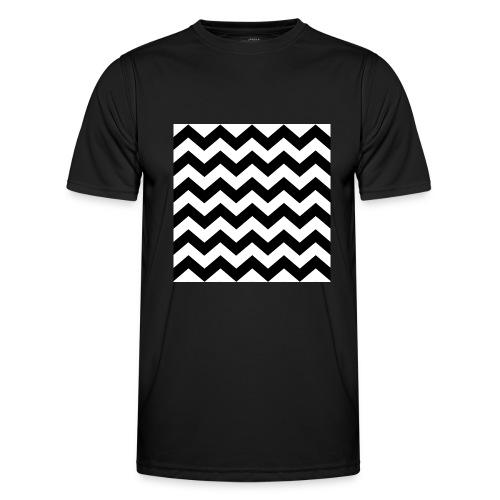 zigzag png - T-shirt sport Homme