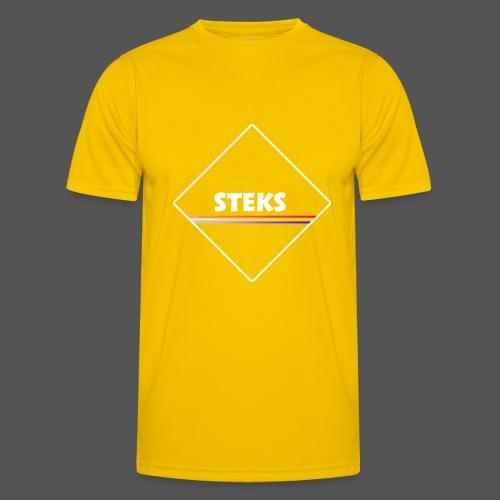 3Color STEKS™ Logo - Functioneel T-shirt voor mannen