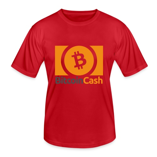Bitcoin Cash - Miesten tekninen t-paita