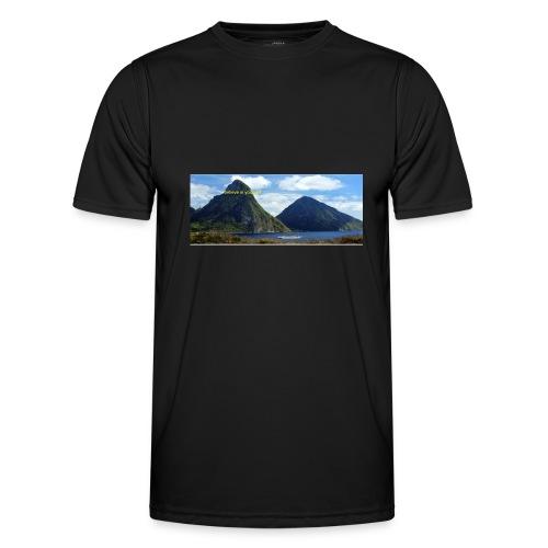 believe in yourself - Men's Functional T-Shirt