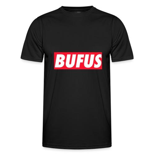 BUFUS - Maglietta sportiva per uomo