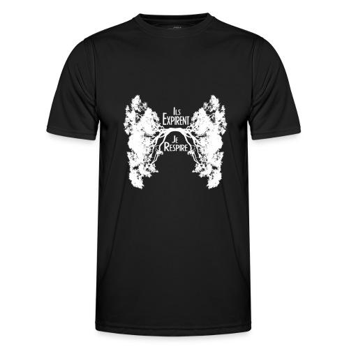 Oxygène blanc - T-shirt sport Homme