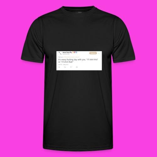 Ieuan Tweet - Men's Functional T-Shirt