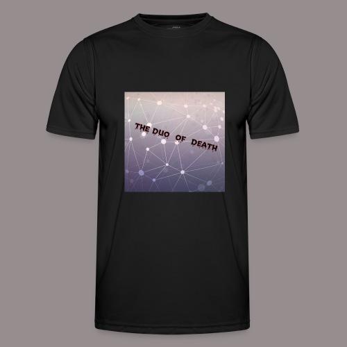 The duo of death logo - Functioneel T-shirt voor mannen