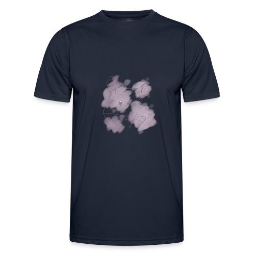 Violet splash chinchilla 2 - Miesten tekninen t-paita
