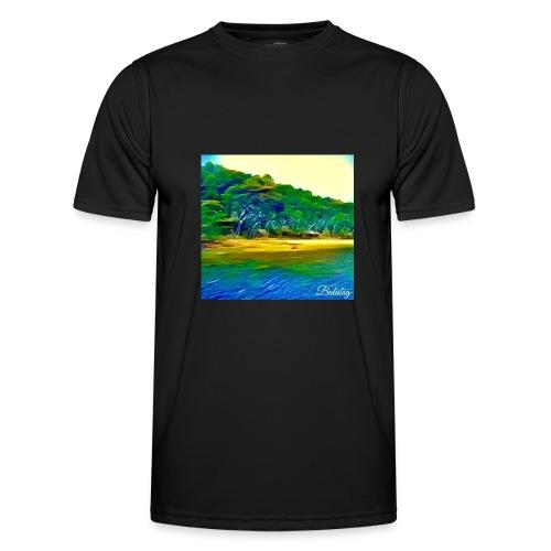 Tropical beach - Maglietta sportiva per uomo