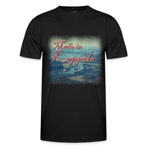 Made in Koppelo lippis - Miesten tekninen t-paita
