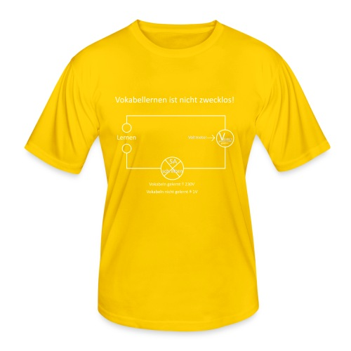 Vokabellernen ist nicht zwecklos - Men's Functional T-Shirt