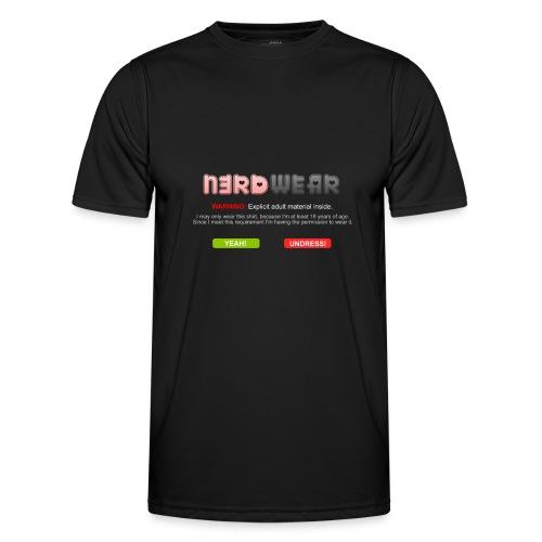 N3RD WEAR - Explicit - Männer Funktions-T-Shirt
