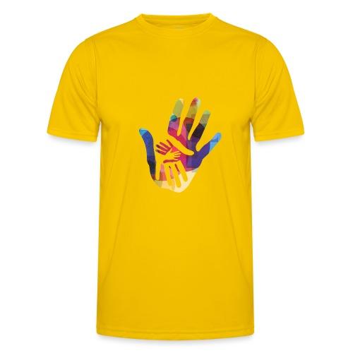 logo_storien - Funksjons-T-skjorte for menn