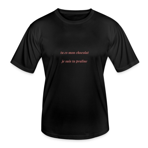 Tu es mon chocolat clair - T-shirt sport Homme