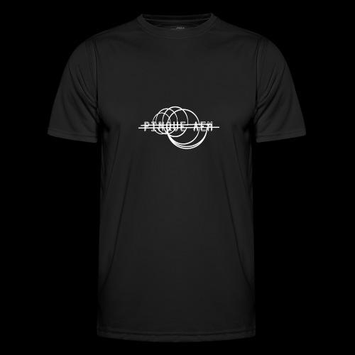 Pinque AEM Bianco - Maglietta sportiva per uomo