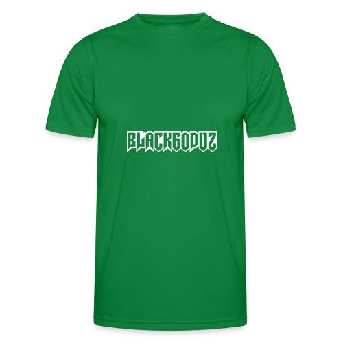 blackgodvz - Maglietta sportiva per uomo