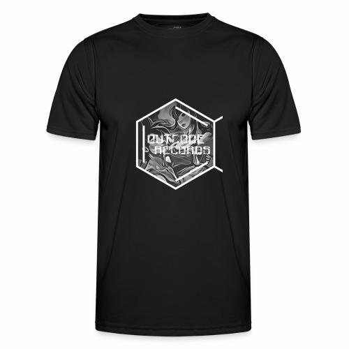 Outcode Records Art - Camiseta funcional para hombres