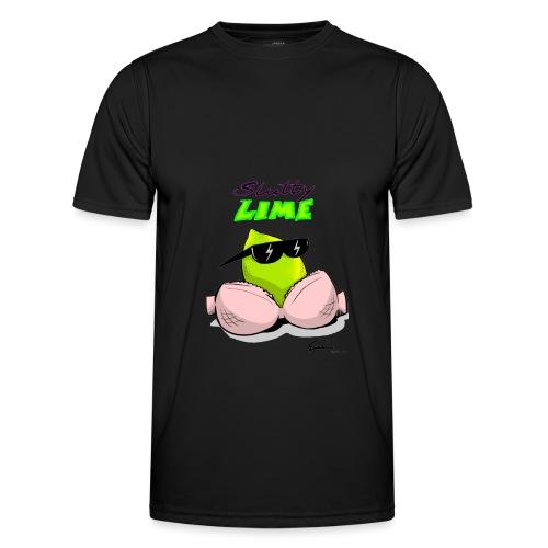 Slutty Lime - Funktionsshirt til herrer