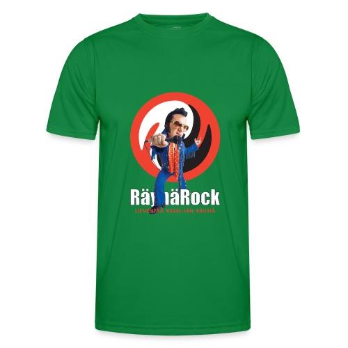 Räyhärock musta - Miesten tekninen t-paita
