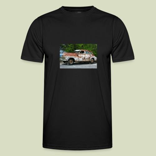 RustyCar - Miesten tekninen t-paita