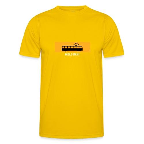 RATIKKA PYSÄKKI HELSINKI t-paidat ja tekstiilit - Miesten tekninen t-paita