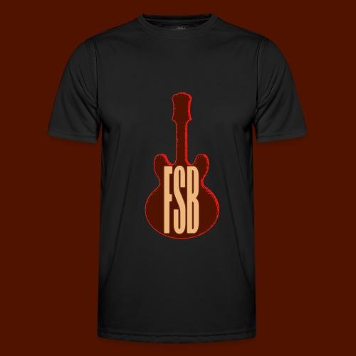 FSB Guitar Logo - Men's Functional T-Shirt