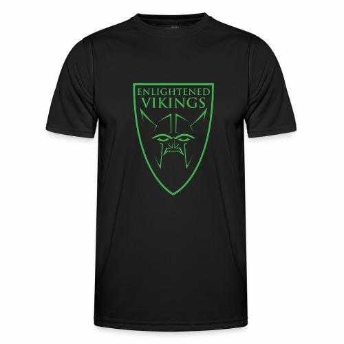 Enlightened Vikings (Org) - Funksjons-T-skjorte for menn