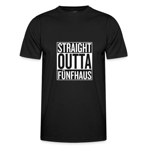 Straight Outta Fünfhaus - Männer Funktions-T-Shirt