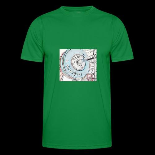 Iron - Miesten tekninen t-paita