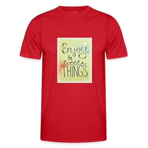 LITTLE_THINGS - Functioneel T-shirt voor mannen