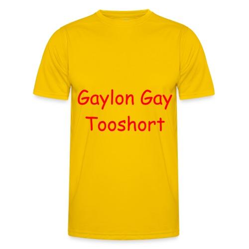 Gaylon Gay Tooshort - Men's Functional T-Shirt